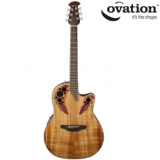 Ovation Celebrity Elite Plus Figured Koa CE44P-FKOA