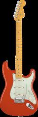 Fender American Deluxe Stratocaster® V Neck Fiesta Red