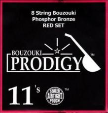 PRODIGY Red Σετ Χορδές 8χορδου Μπουζουκιού