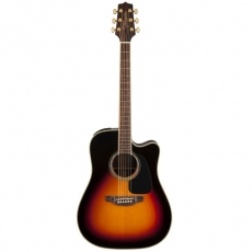 Takamine GD51CE-BSB Dreadnought Brown Sunburst