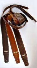 Δερμάτινη ζώνη κιθάρας Minotaur καφέ grain