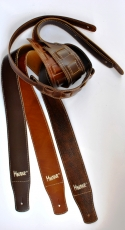 Δερμάτινη ζώνη κιθάρας Minotaur καφέ σκούρο